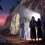Das offene Grab von Jesus