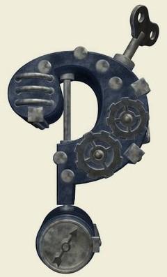 Steampunk Fragezeichen